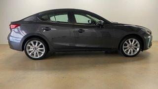 2015 Mazda 3 BM MY15 SP25 Grey 6 Speed Manual Sedan.
