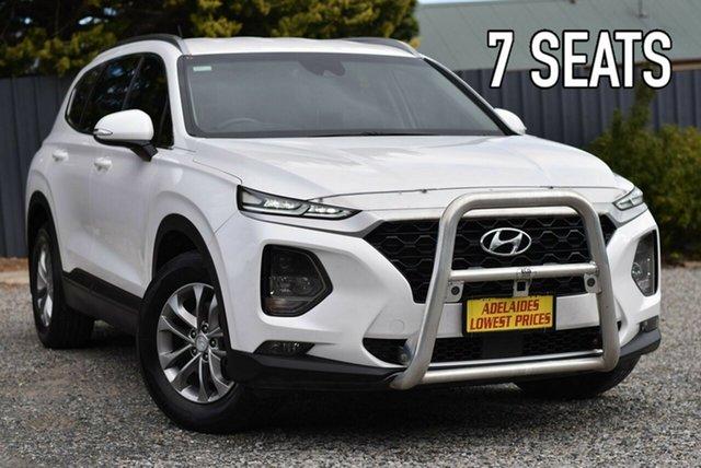 Used Hyundai Santa Fe TM MY19 Active Morphett Vale, 2019 Hyundai Santa Fe TM MY19 Active White 6 Speed Sports Automatic Wagon