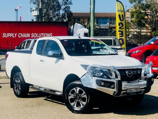 Used Mazda BT-50 UR0YG1 XTR Freestyle Liverpool, 2017 Mazda BT-50 UR0YG1 XTR Freestyle White 6 Speed Sports Automatic Utility