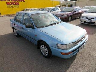 1998 Toyota Corolla AE101R CSi Blue 4 Speed Automatic Sedan.