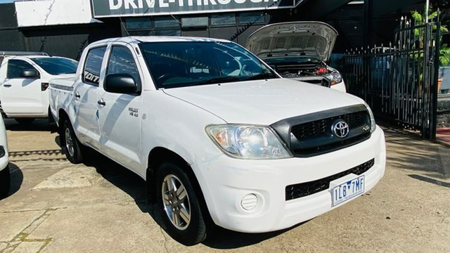 Used Toyota Hilux GGN15R MY08 SR 4x2 Maidstone, 2008 Toyota Hilux GGN15R MY08 SR 4x2 5 Speed Automatic Utility