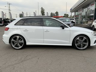 2018 Audi S3 8V MY18 Sportback S Tronic Quattro White 7 Speed Sports Automatic Dual Clutch Hatchback