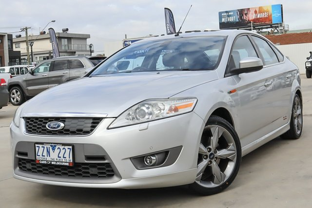 Used Ford Mondeo MB XR5 Turbo Coburg North, 2009 Ford Mondeo MB XR5 Turbo White 6 Speed Manual Hatchback