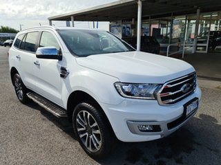 2019 Ford Everest UA II 2019.75MY Titanium White 10 Speed Sports Automatic SUV.