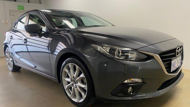 Used Mazda 3 BM MY15 SP25 Phillip, 2015 Mazda 3 BM MY15 SP25 Grey 6 Speed Manual Sedan