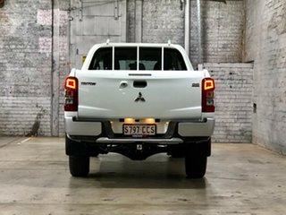 2019 Mitsubishi Triton MR MY20 GLX Double Cab White 6 Speed Sports Automatic Utility