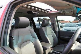 2011 Nissan Pathfinder R51 MY10 TI Red 5 Speed Sports Automatic Wagon.