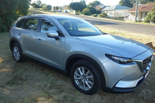 Used Mazda CX-9 TC Sport SKYACTIV-Drive East Maitland, 2017 Mazda CX-9 TC Sport SKYACTIV-Drive Silver 6 Speed Sports Automatic Wagon
