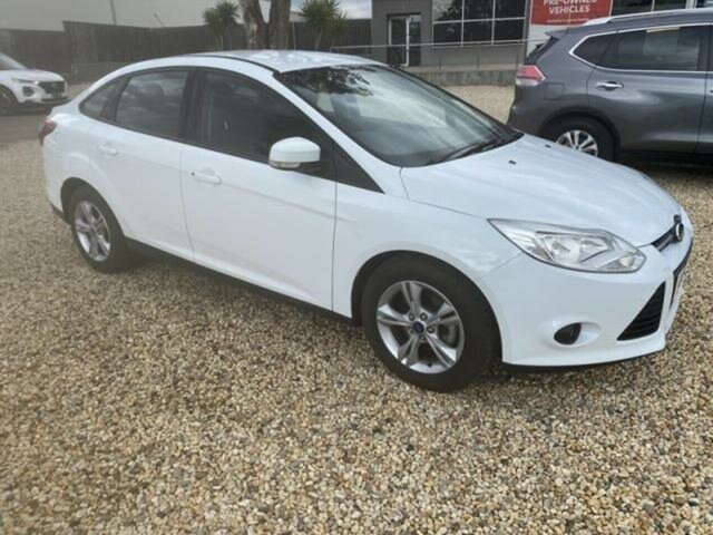 Used Ford Focus LW Trend Wangaratta, 2012 Ford Focus LW Trend 6 Speed Automatic Sedan
