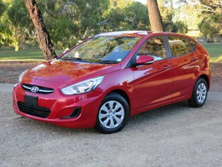 2015 Hyundai Accent RB3 MY16 Active Red 6 Speed Constant Variable Hatchback