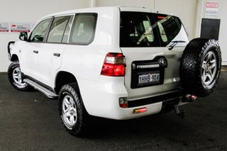 2016 Toyota Landcruiser VDJ200R MY16 GX (4x4) Glacier White 6 Speed Automatic Wagon