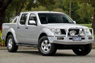 2006 Nissan Navara D40 ST-X Silver 5 Speed Automatic Utility.