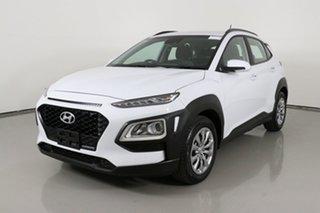 2019 Hyundai Kona OS.3 MY20 GO (FWD) White 6 Speed Automatic Wagon.