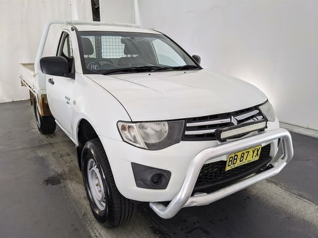 Used Mitsubishi Triton ML MY09 GLX Maryville, 2009 Mitsubishi Triton ML MY09 GLX White 4 Speed Automatic Cab Chassis