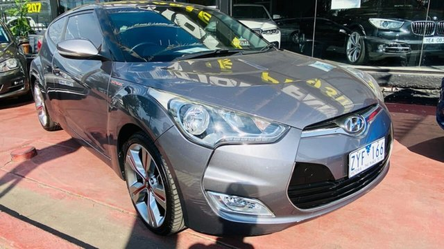 Used Hyundai Veloster FS3 Street Coupe Maidstone, 2013 Hyundai Veloster FS3 Street Coupe 6 Speed Manual Hatchback