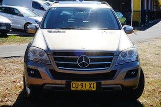2008 Mercedes-Benz M-Class W164 MY08 ML280 CDI Gold 7 Speed Sports Automatic Wagon.
