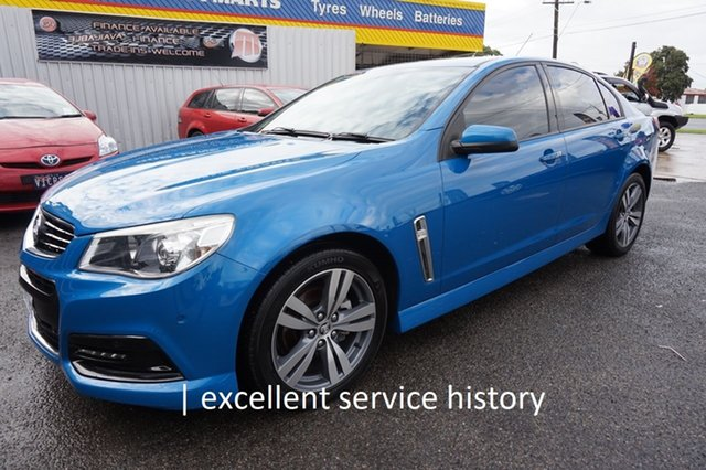 Used Holden Commodore VF MY15 SV6 Dandenong, 2014 Holden Commodore VF MY15 SV6 Perfect Blue 6 Speed Sports Automatic Sedan