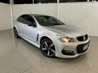 2016 Holden Commodore VF II MY16 SV6 Silver, Chrome 6 Speed Sports Automatic Sedan.