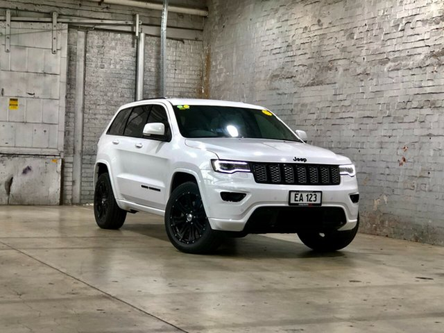 Used Jeep Grand Cherokee WK MY17 Blackhawk Mile End South, 2017 Jeep Grand Cherokee WK MY17 Blackhawk White 8 Speed Sports Automatic Wagon