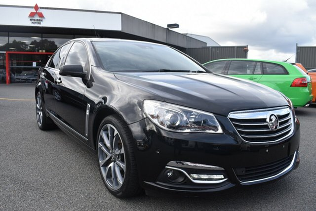 Used Holden Calais VF II MY16 V Wantirna South, 2015 Holden Calais VF II MY16 V Black 6 Speed Sports Automatic Sedan