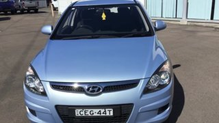 2011 Hyundai i30 FD MY11 SX Blue 4 Speed Automatic Hatchback