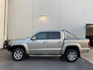 2013 Volkswagen Amarok 2H MY13 TDI400 4Mot Highline Beige 6 Speed Manual Utility