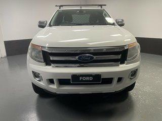 2015 Ford Ranger PX XLT Super Cab 4x2 Hi-Rider White 6 Speed Sports Automatic Utility