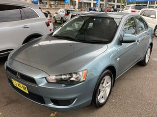 2009 Mitsubishi Lancer CJ MY09 ES Blue 6 Speed Constant Variable Sedan.