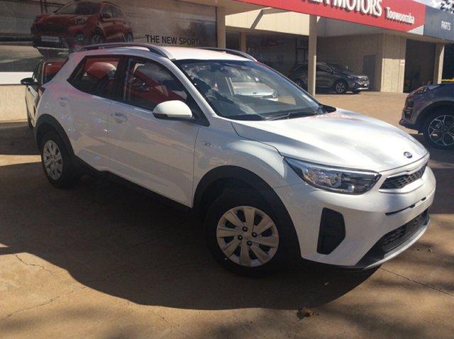 New Kia Stonic YB MY21 S FWD Toowoomba, 2021 Kia Stonic YB MY21 S FWD Clear White 6 Speed Automatic Wagon