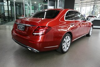 2017 Mercedes-Benz E-Class W213 E300 9G-Tronic PLUS Red 9 Speed Sports Automatic Sedan