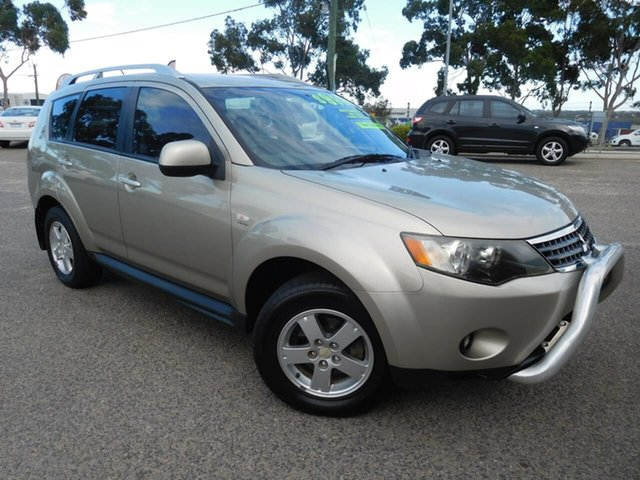 Used Mitsubishi Outlander ZG MY09 Activ Wangara, 2009 Mitsubishi Outlander ZG MY09 Activ Gold 6 Speed Constant Variable Wagon