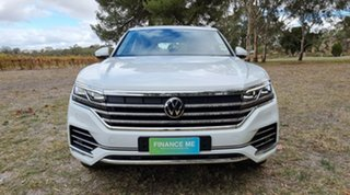 2021 Volkswagen Touareg CR MY21 210TDI Tiptronic 4MOTION Elegance Pure White 8 Speed.