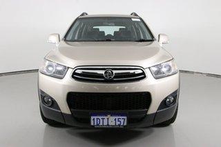 2011 Holden Captiva CG Series II 7 CX (4x4) Gold 6 Speed Automatic Wagon.