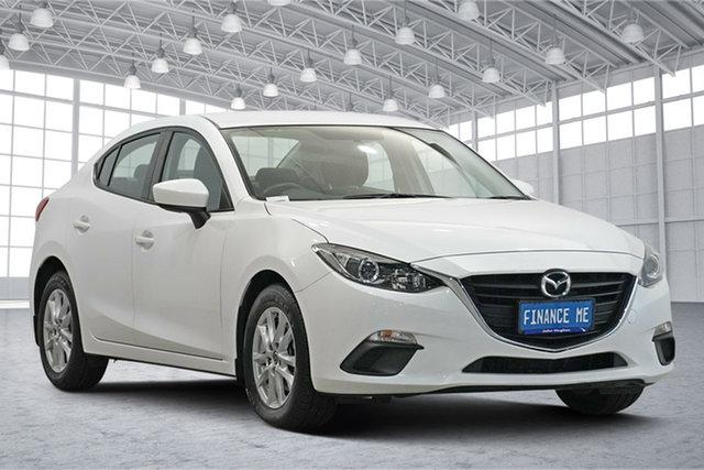 Used Mazda 3 BM5278 Neo SKYACTIV-Drive Victoria Park, 2016 Mazda 3 BM5278 Neo SKYACTIV-Drive White 6 Speed Sports Automatic Sedan