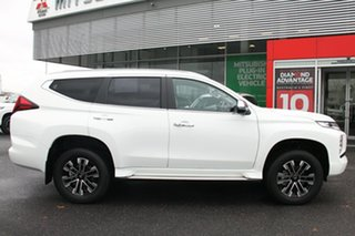 2019 Mitsubishi Pajero Sport QF MY20 Exceed White 8 Speed Sports Automatic Wagon