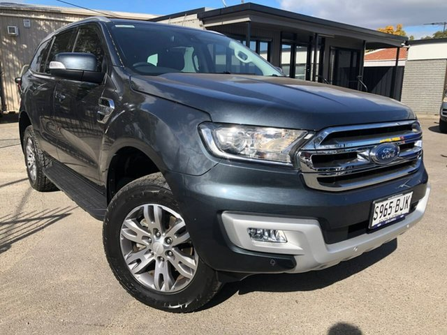 Used Ford Everest UA Trend Hillcrest, 2015 Ford Everest UA Trend Grey 6 Speed Sports Automatic SUV