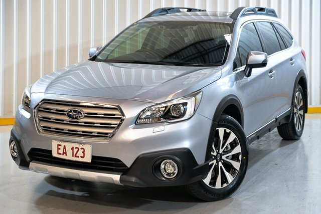 Used Subaru Outback B6A MY15 2.5i CVT AWD Premium Hendra, 2015 Subaru Outback B6A MY15 2.5i CVT AWD Premium Silver 6 Speed Constant Variable Wagon