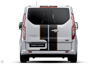 2021 Ford Transit Custom VN 2021.25MY 320S (Low Roof) Sport White 6 Speed Automatic Van