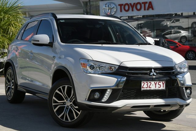 Pre-Owned Mitsubishi ASX XC MY19 LS 2WD North Lakes, 2018 Mitsubishi ASX XC MY19 LS 2WD White 1 Speed Constant Variable Wagon
