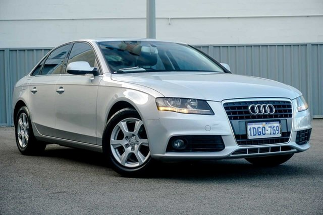 Used Audi A4 B8 8K MY10 Osborne Park, 2010 Audi A4 B8 8K MY10 Silver 6 Speed Manual Sedan