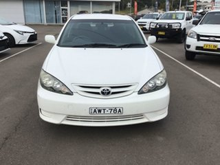 2005 Toyota Camry MCV36R Sportivo White 4 Speed Automatic Sedan.