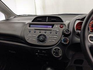 2008 Honda Jazz GE MY09 GLi White 5 Speed Automatic Hatchback