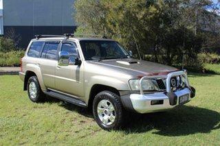 2005 Nissan Patrol GU IV MY05 ST-S Gold 4 Speed Automatic Wagon