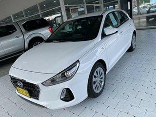 2019 Hyundai i30 Go White Sports Automatic Hatchback.