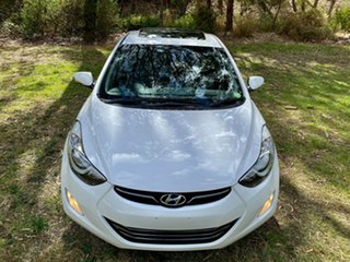 2011 Hyundai Elantra MD Premium Creamy White 6 Speed Sports Automatic Sedan
