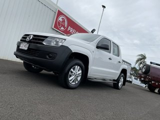 2011 Volkswagen Amarok 2H MY12 TDI340 4x2 White 6 Speed Manual Utility.