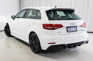 2019 Audi A3 8V MY20 35 TFSI Sportback S Tronic S Line Plus White 7 Speed.