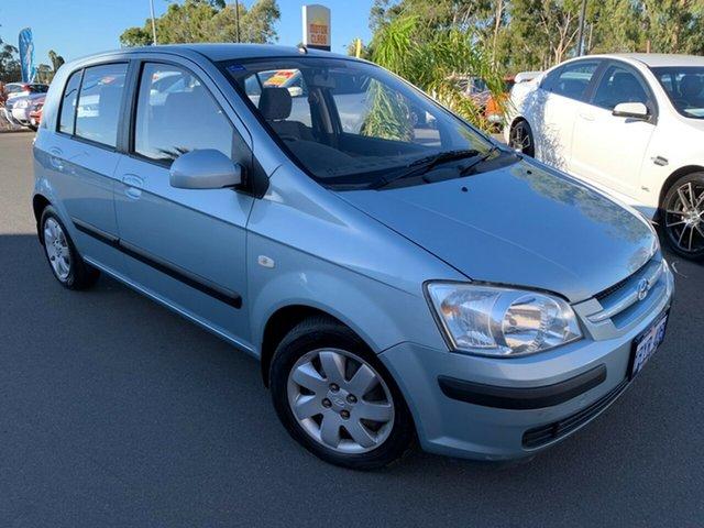 Used Hyundai Getz TB MY05 GL Bunbury, 2005 Hyundai Getz TB MY05 GL Blue 4 Speed Automatic Hatchback