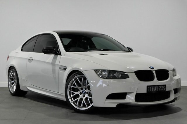 Used BMW M3 E92 M-DCT Bayswater, 2008 BMW M3 E92 M-DCT White 7 Speed Sports Automatic Dual Clutch Coupe