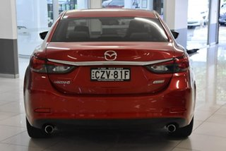 2015 Mazda 6 GJ1022 Atenza SKYACTIV-Drive Red 6 Speed Sports Automatic Sedan
